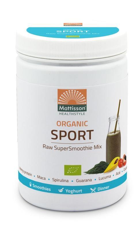 Mattisson Mattisson Absolute supersmoothie sport mix bio (300 gram)