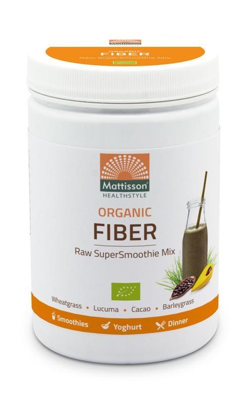Mattisson Mattisson Absolute supersmoothie fiber mix bio (300 gram)