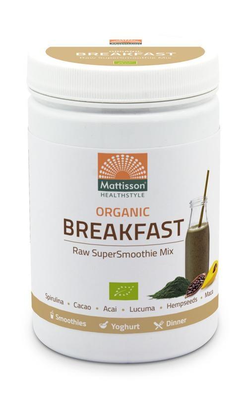 Mattisson Mattisson Absolute supersmoothie breakfast mix bio (300 gram)