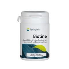 Springfield Biotin-8 biotine 8000 mcg (30 vcaps)