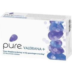 Pure Valeriana + (20 tabletten)