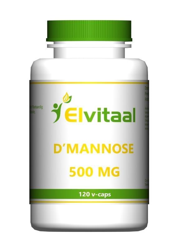Elvitaal Elvitaal D-Mannose 500 mg (120 vcaps)