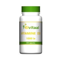 Elvitaal Vitamine D3 1000IE 25 mcg (300 capsules)