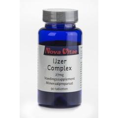 Nova Vitae IJzer complex 27 mg (90 tabletten)