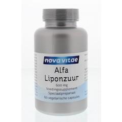 Nova Vitae Alfa liponzuur 600 mg (60 capsules)