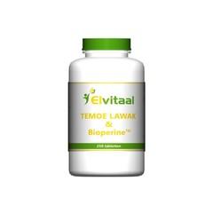 Elvitaal Temoe lawak geelwortel (250 tabletten)