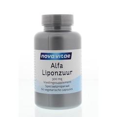Nova Vitae Alfa liponzuur 300 mg (60 capsules)