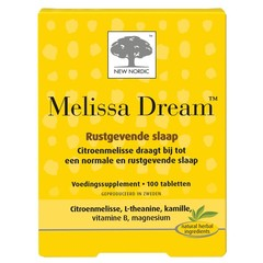 New Nordic Melissa dream (100 tabletten)