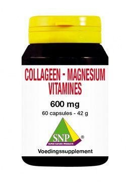 SNP SNP Collageen magnesium vitamines (60 capsules)