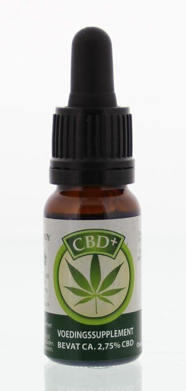 Jacob Hooy Jacob Hooy CBD Plus olie (10 ml)