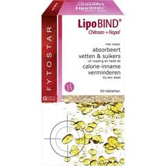 Fytostar Lipobind chitosan nopal (60 tabletten)