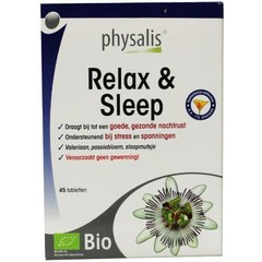 Physalis Relax & sleep (45 tabletten)