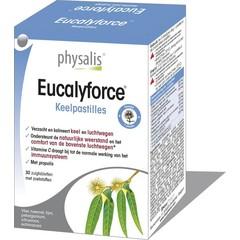 Physalis Eucalyforce keelpastille (30 tabletten)