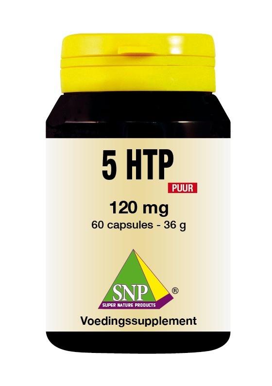 SNP SNP 5 HTP 120 mg puur (60 capsules)