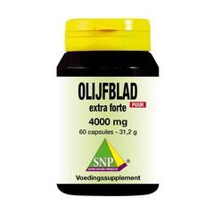 SNP Olijfblad extract extra forte puur (60 capsules)