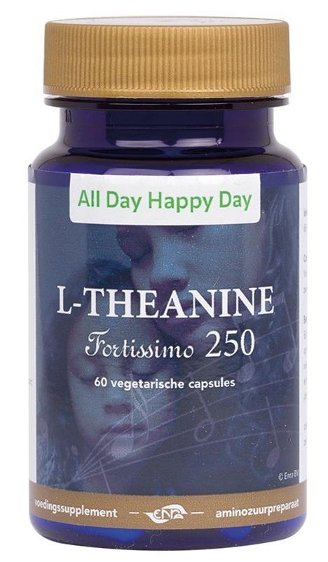 Alldayhappyday Alldayhappyday L-theanine 250 mg (60 vcaps)