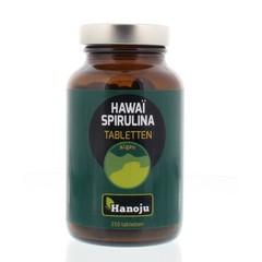 Hanoju Spirulina Hawaiiaans 500 mg (250 tabletten)