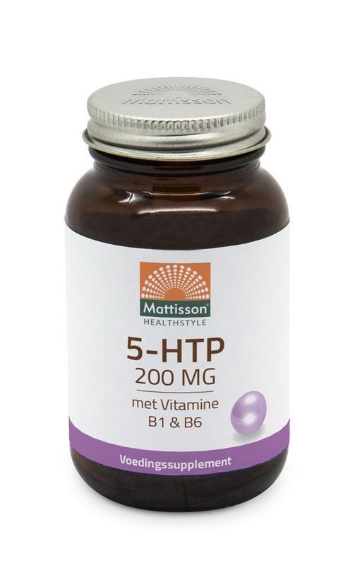 Mattisson Mattisson 5-HTP 200 mg vitamine B1 & B6 (60 capsules)