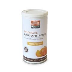 Mattisson Vegan pompoenpit proteine bio 58% (250 gram)