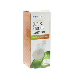 Sanias ORS lemon bruistablet (6 stuks)