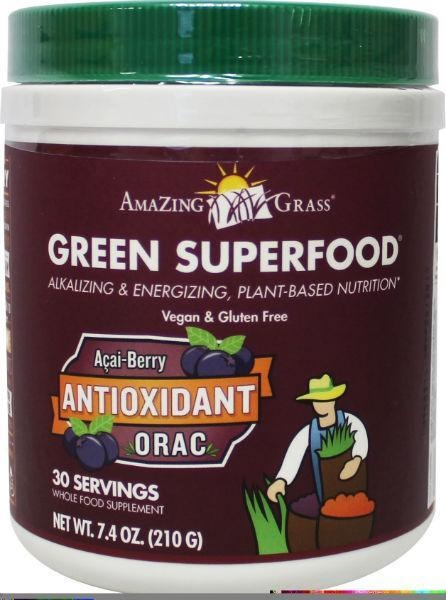 Amazing Grass Amazing Grass Green superfood anti oxidant orac poeder (210 gram)