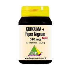 SNP Curcuma & piper nigrum 510 mg puur (60 capsules)