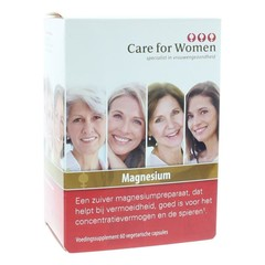 Care For Women Magnesium (60 tabletten)