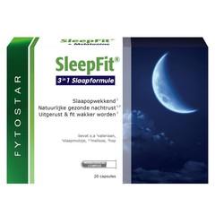 Fytostar SleepFit 3 in 1 slaapformule (20 capsules)