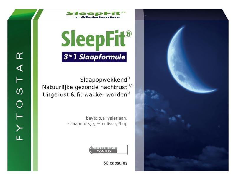 Fytostar Sleep fit totaal maxi (60 capsules)