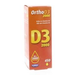 Orthonat Ortho D3 2000IU 450 druppels (20 ml)