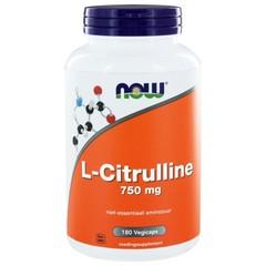 NOW L-Citrulline 750 mg (180 vcaps)