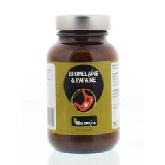 Hanoju Bromelaine papaja enzym (90 vcaps)