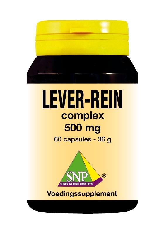 SNP SNP Lever rein complex (60 capsules)