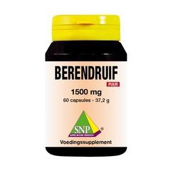 SNP Berendruif 1500 mg puur (60 capsules)