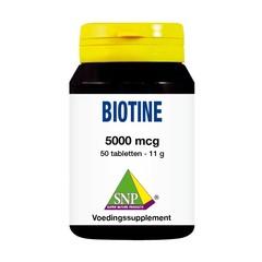 SNP Biotine 5000 mcg (50 tabletten)