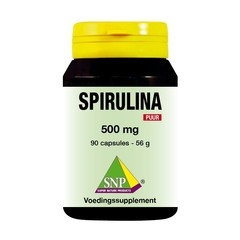 SNP Spirulina 500 mg puur (90 capsules)