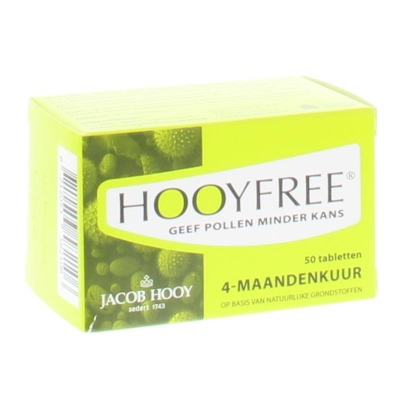 Jacob Hooy Jacob Hooy Hooyfree 4 maanden (50 tabletten)