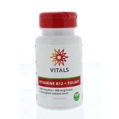 Vitals Vitamine B12 1000 mcg folaat 500 mcg (100 tabletten)