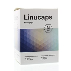 Nutriphyt Linucaps (60 capsules)