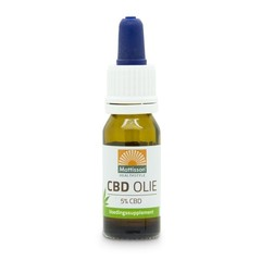 Mattisson CBD olie 5% (10 ml)
