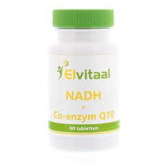 Elvitaal NADH met co-enzym Q10 (60 tabletten)