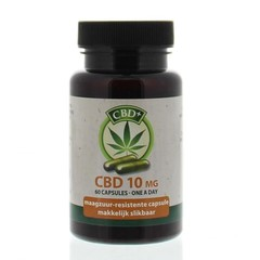 Jacob Hooy CBD 10 mg capsules (60 capsules)