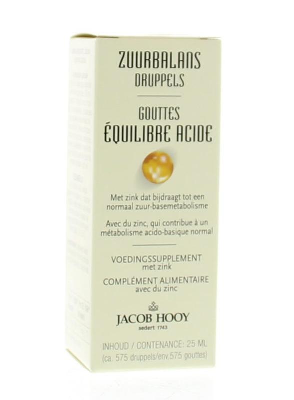 Jacob Hooy Jacob Hooy Zuurbalans (25 ml)