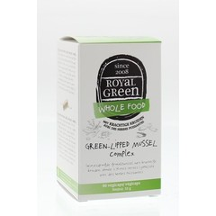Royal Green Green-lipped mussel complex (60 vcaps)