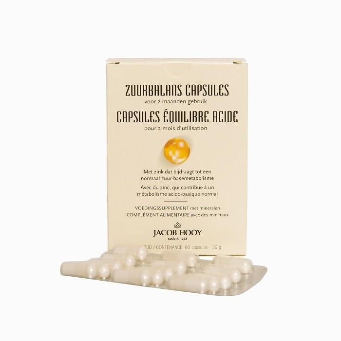 Jacob Hooy Jacob Hooy Zuurbalans (60 capsules)