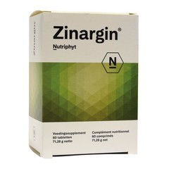Nutriphyt Zinargin (60 tabletten)