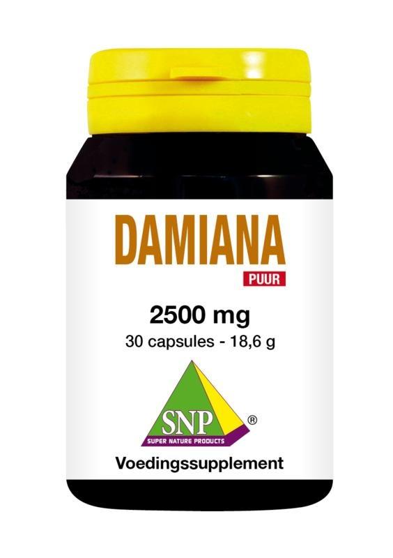 SNP SNP Damiana extract 2500 mg puur (30 capsules)