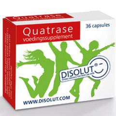 Disolut Quatrase enzym complex (36 capsules)