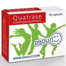 Disolut Disolut Quatrase enzym complex (36 capsules)