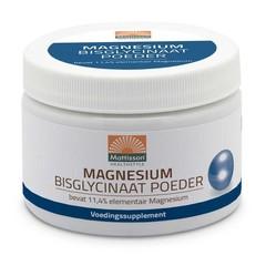 Mattisson Magnesium bisglycinaat poeder 11.4% elem magnesium (200 gram)